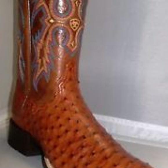 7100f0dc4d1 ARIAT Women's Full Quill Ostrich Boots
